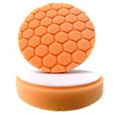 "Chemical Guys Orange 4"" Hex Logic Pad"